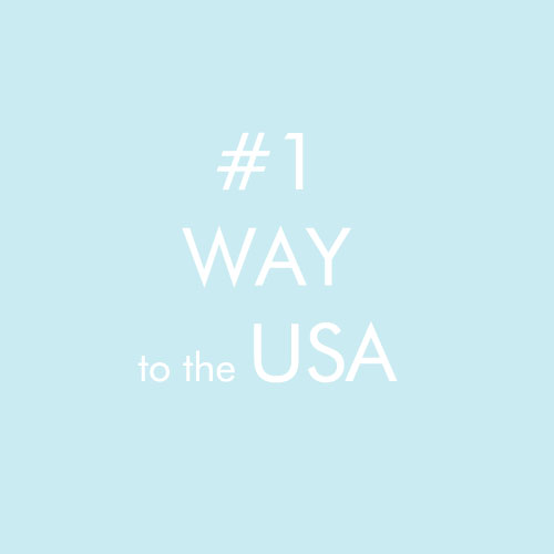 #1 way to the USA