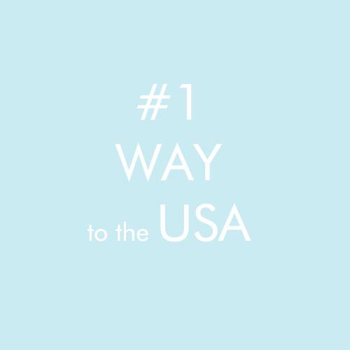 #1 way to the USA