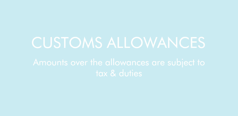 Customs Allowances