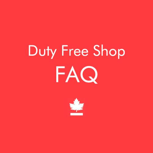 Duty Free FAQ
